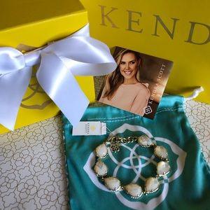 NWT Kendra Scott Gold Brynn Bracelet